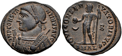 Roman coin - Constantine Ist The Great - Ae Nummus